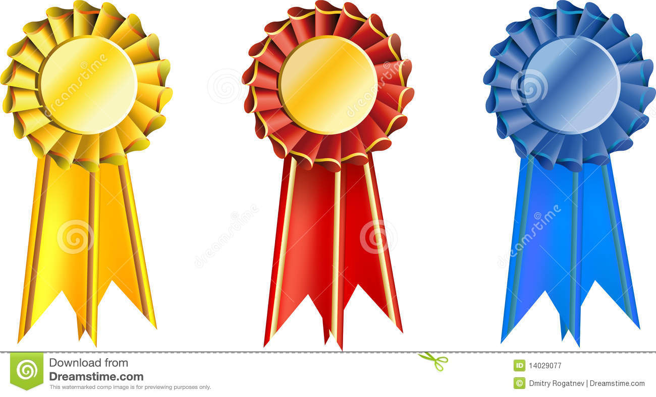 Set Award Ribbons Stock Vector. Illustration Of Symbol - 14029077 - Free Printable Ribbons