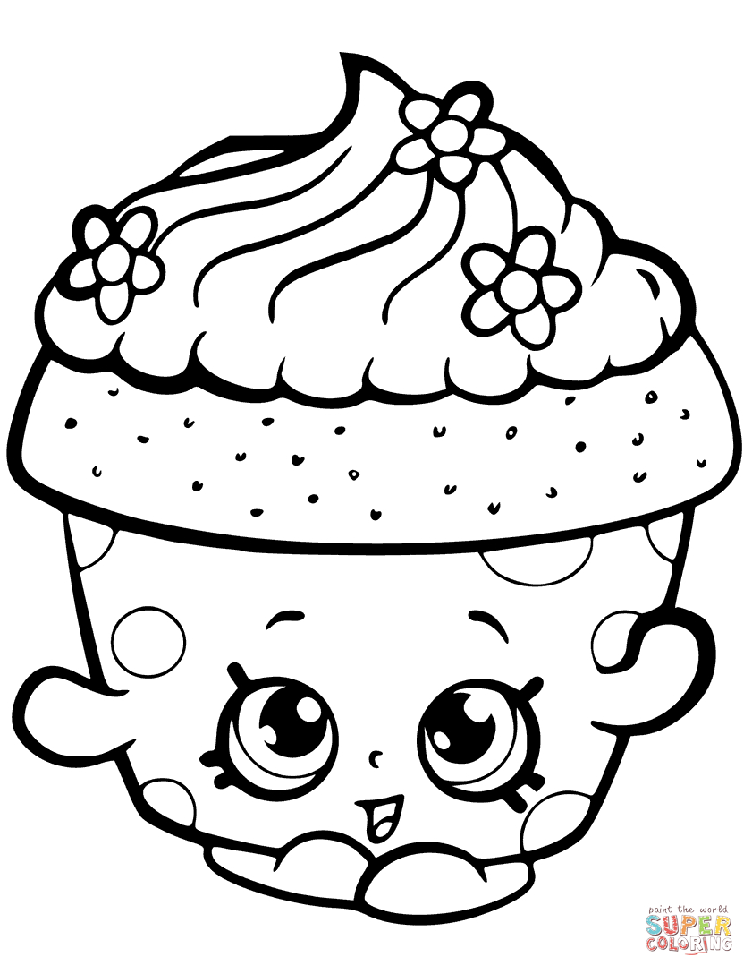 Shopkins Coloring Pages   Free Coloring Pages - Shopkins Coloring Pages Free Printable