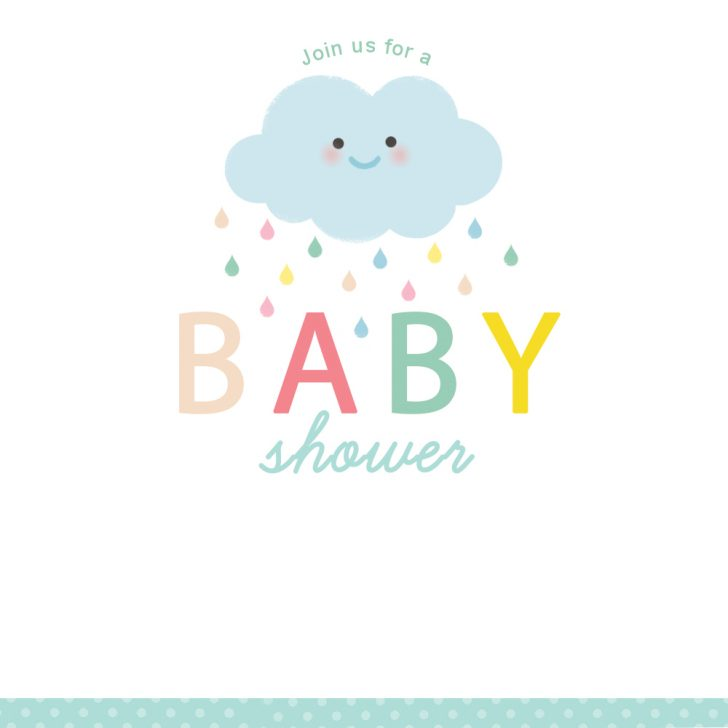 Free Printable Baby Sprinkle Invitations