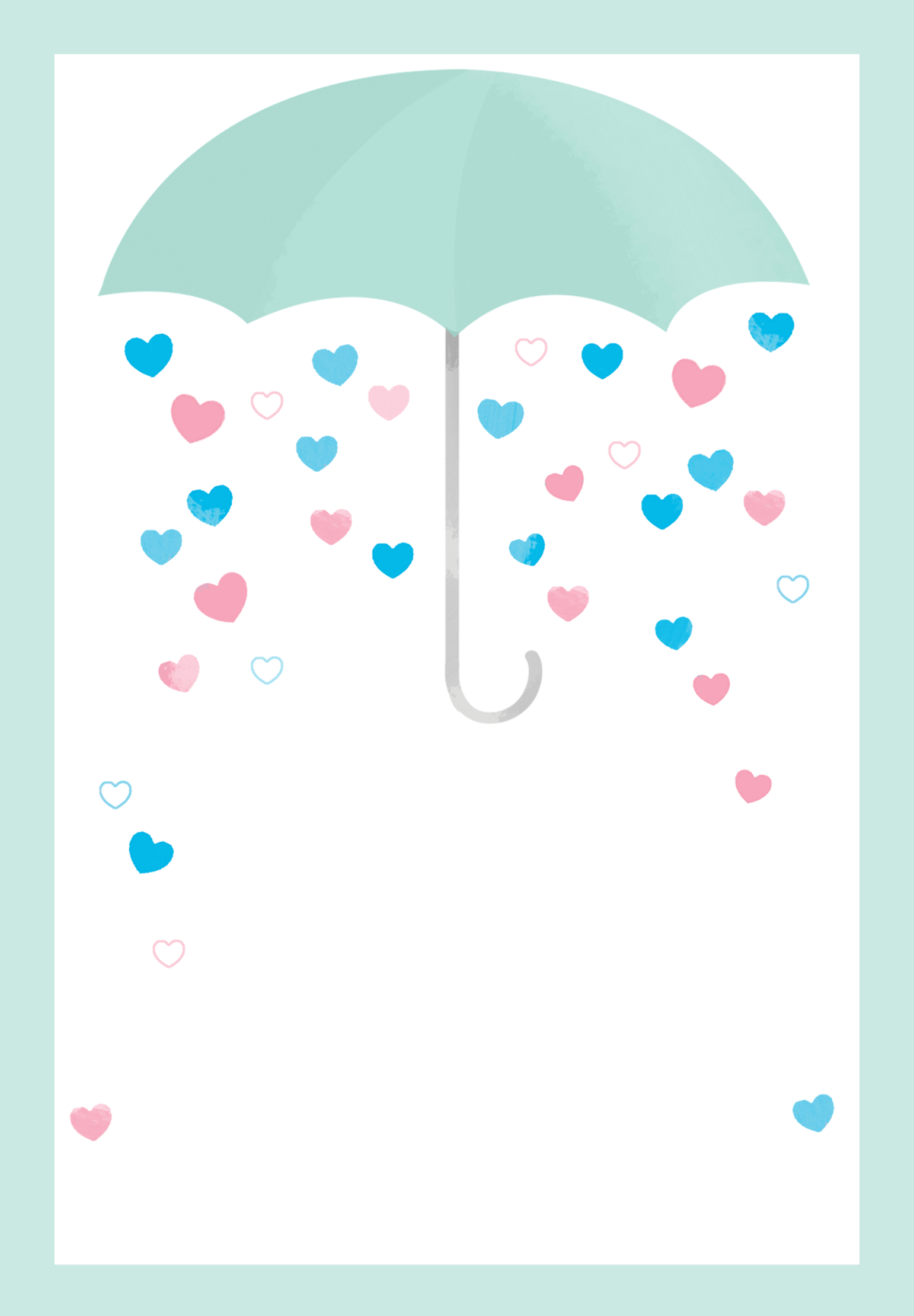 Shower With Love - Free Printable Baby Shower Invitation Template - Free Printable Baby Shower Invitations
