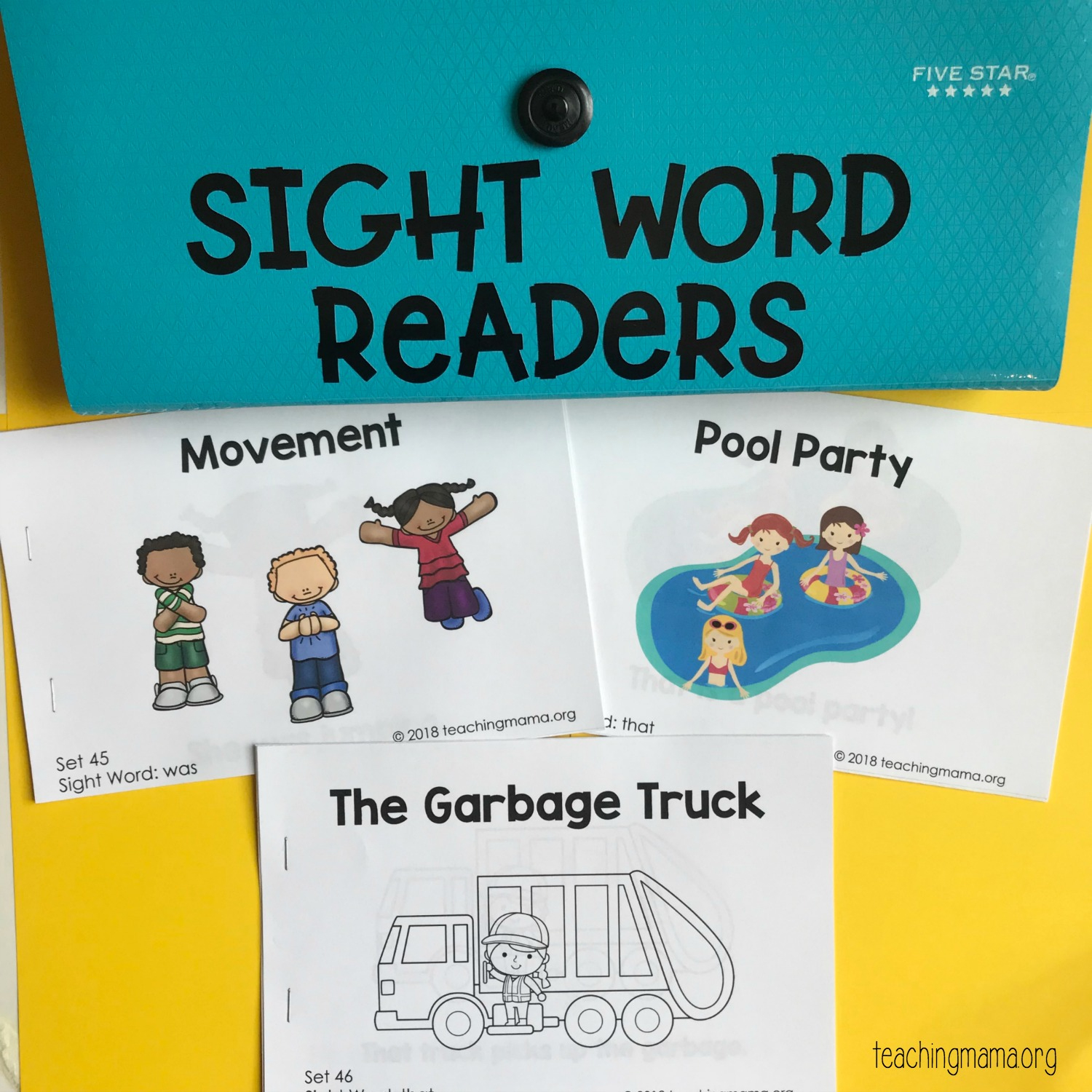 Sight Word Readers - Free Printable Sight Word Books