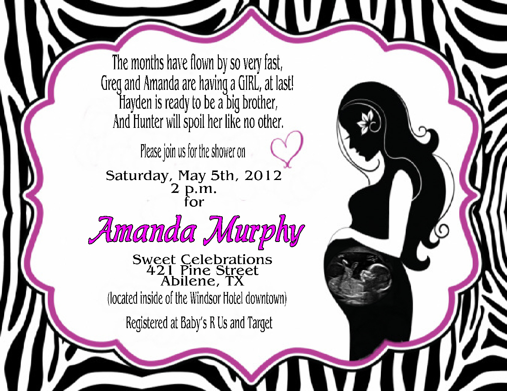 Simba Baby Shower Invitations Simba Lion King Baby Shower Invitation - Free Printable Zebra Baby Shower Invitations