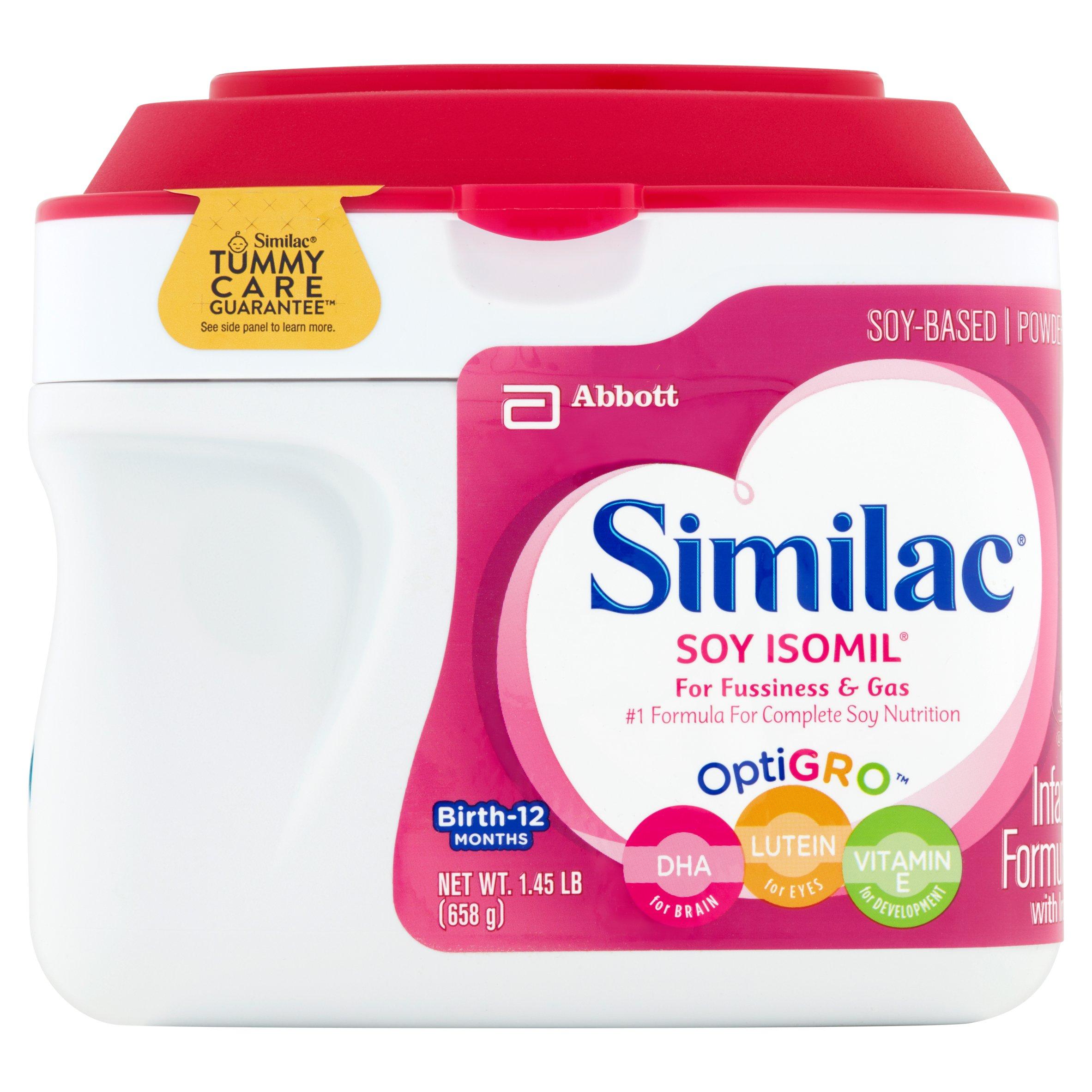 Similac Soy Isomil Infant Formula With Iron, Powder, 1.45 Lb - Free Printable Similac Baby Formula Coupons