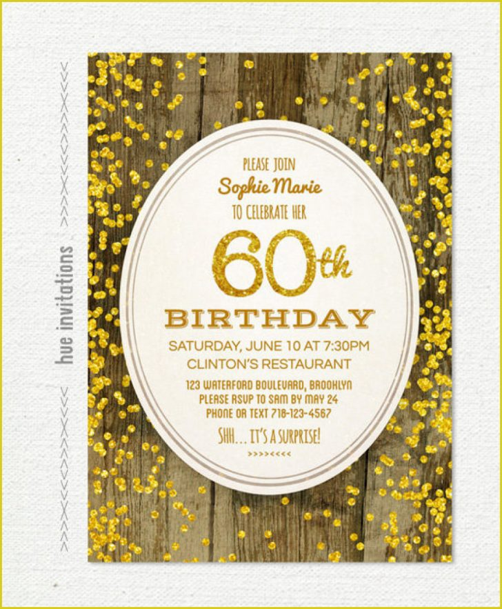Free Printable Surprise 60Th Birthday Invitations