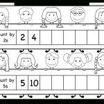 Skip Counting2 And 5 – Worksheet / Free Printable Worksheets   Free Printable Skip Counting Worksheets