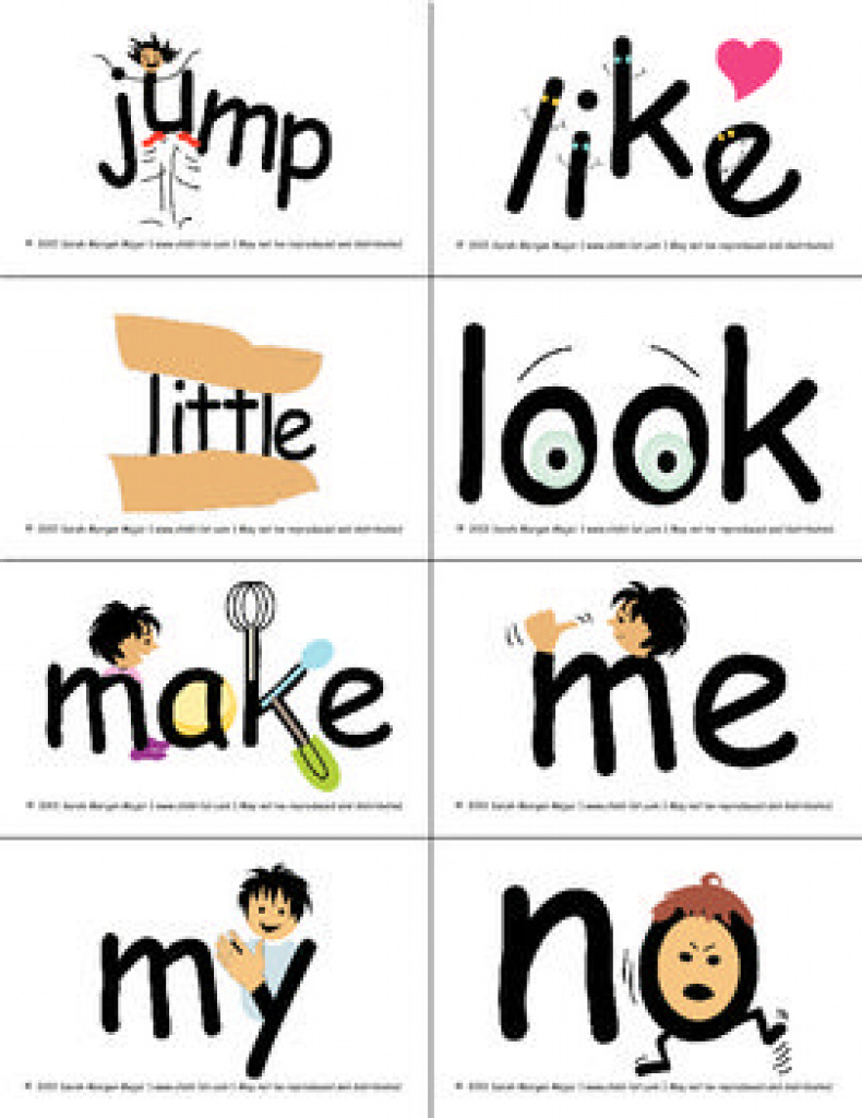 Snapwords® Sight Word List A Pocket Chart Cards | Sight Word Games - Free Printable Snapwords