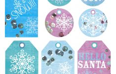 Snowflakes ~ Free Printable Holiday Gift Tags – Marla Meridith – Free Printable Gift Tags