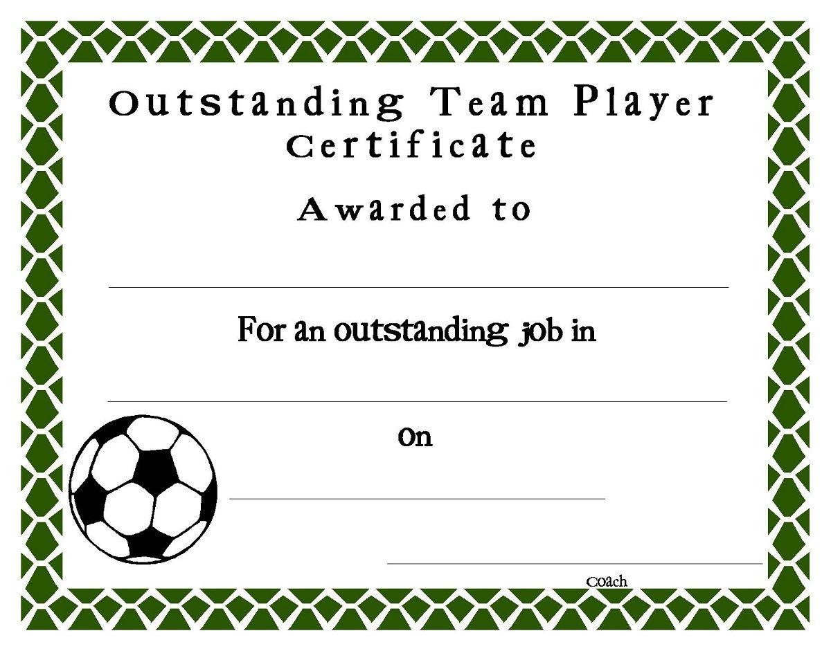 Soccer Award Certificates4 | Soccer | Pinterest | Certificate - Free Soccer Award Certificates Printable