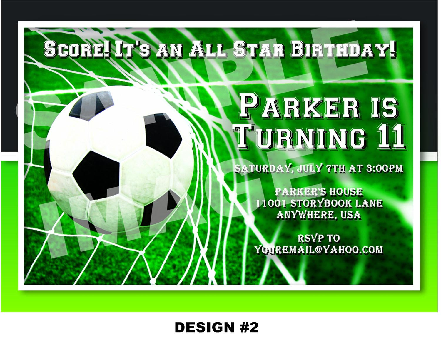 Soccer Themed Birthday Party Invitations   Home Party Ideas - Free Printable Soccer Birthday Invitations