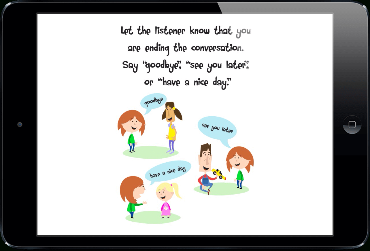 Social Stories For Teaching Conversation Skills To Childrentouch Autism - Free Printable Social Stories Making Friends