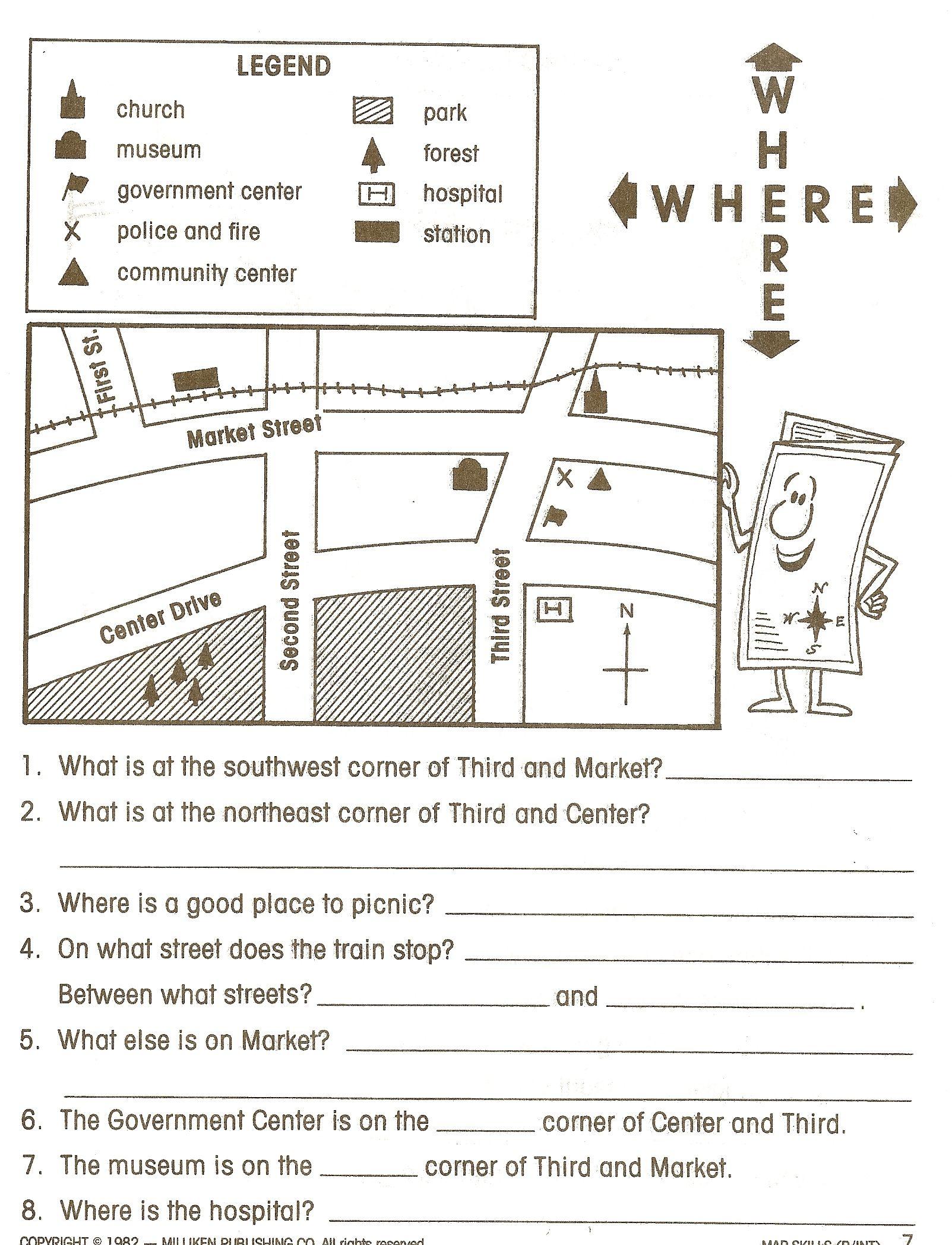 Social Studies Worksheets - Google Search | Social Studies - Free Printable Worksheets For 2Nd Grade Social Studies