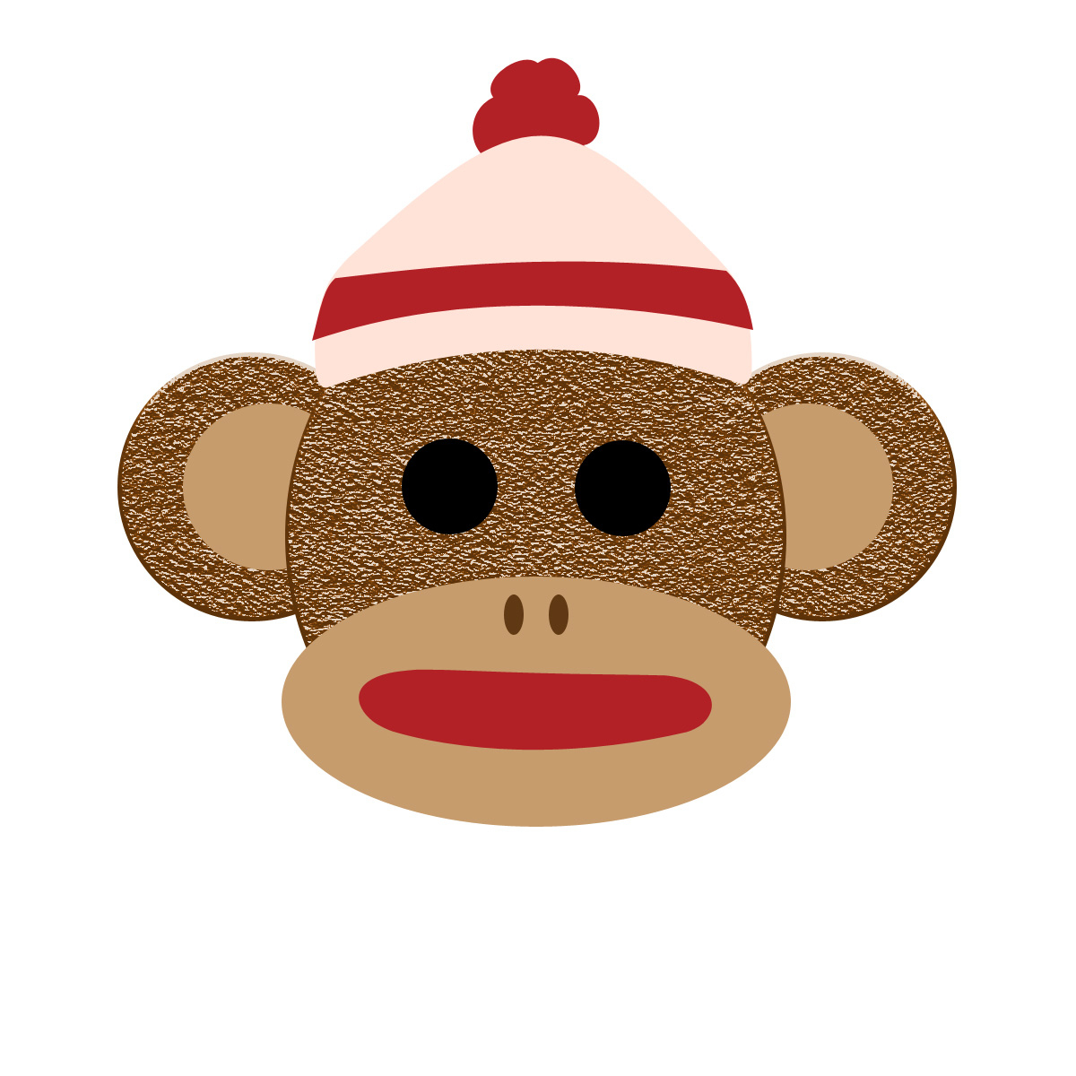 Sock Monkey Clipart Free Collection - Free Printable Sock Monkey Clip Art