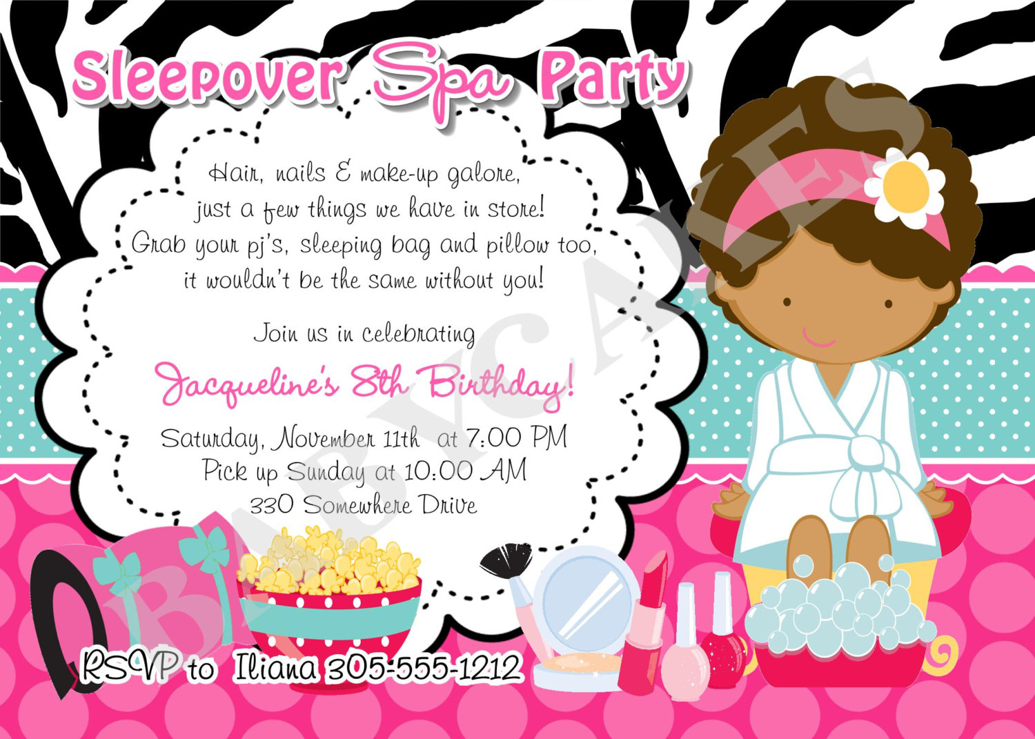 Spa Birthday Party Invitations Pri Cool Free Apps For Birthday - Free Printable Spa Party Invitations Templates