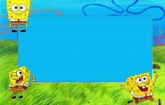 Spongebob Squarepants: Free Printable Cards And Invitations. | Oh My - Spongebob Free Printable Invitations