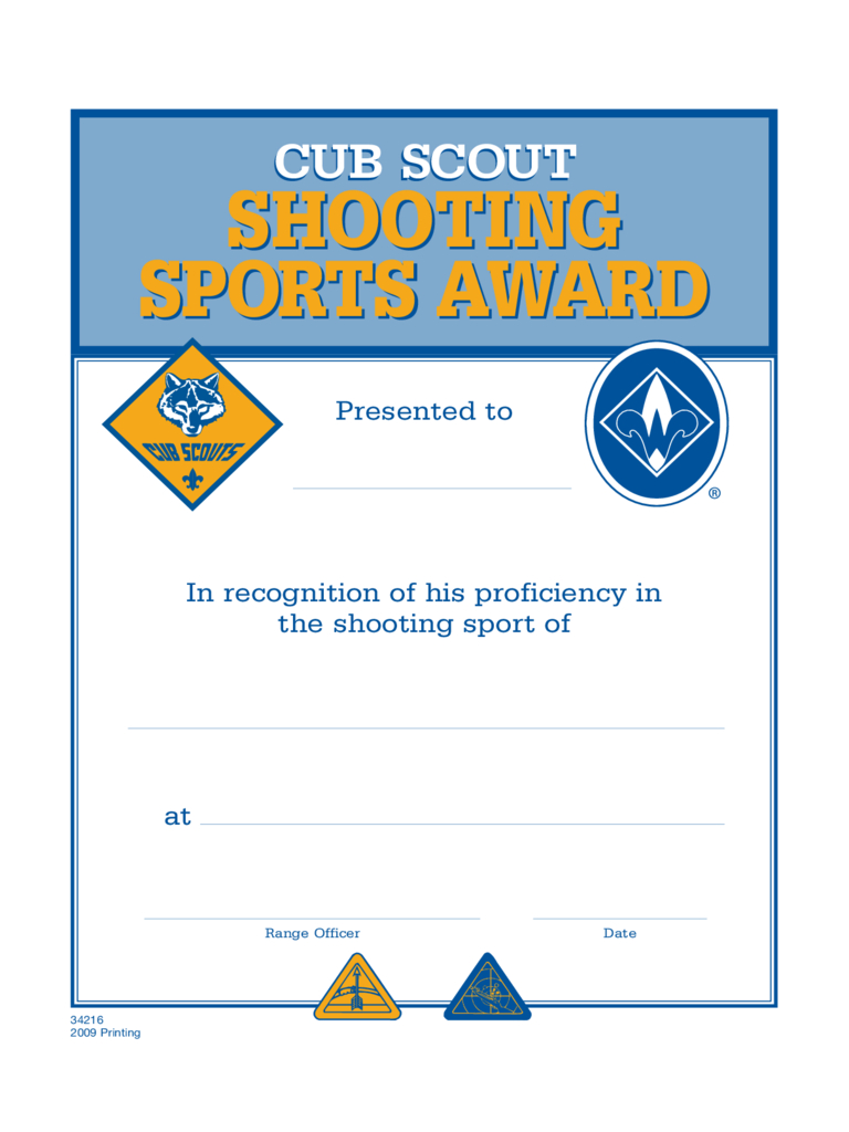 Sports Certificates - 5 Free Templates In Pdf, Word, Excel Download - Sports Certificate Templates Free Printable