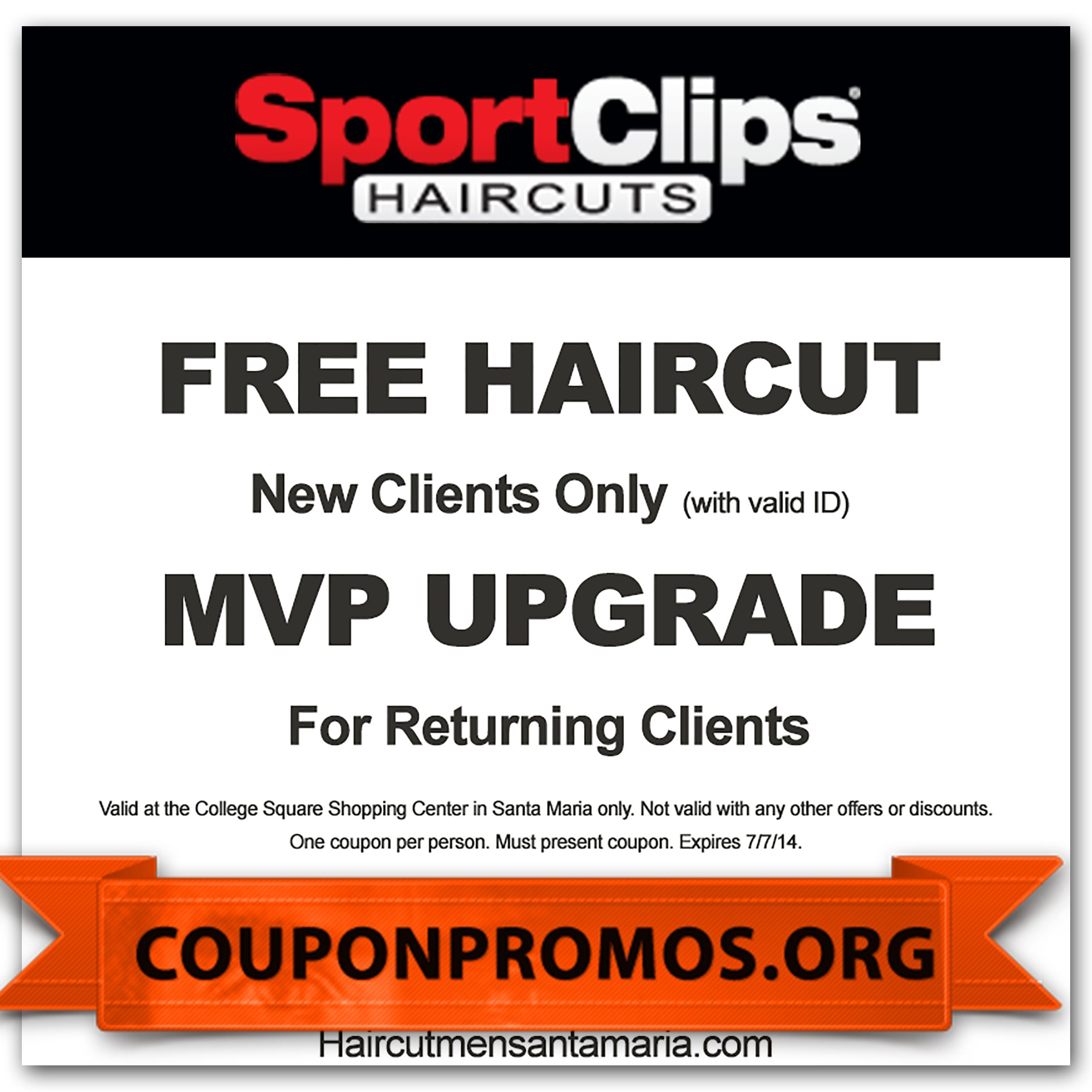 Sports Clips Coupons For November December | Coupons For Free - Great Clips Free Coupons Printable