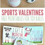 Sports Valentines Printables – Candy Free Valentine's Day Ideas – Free Printable Football Valentines Day Cards