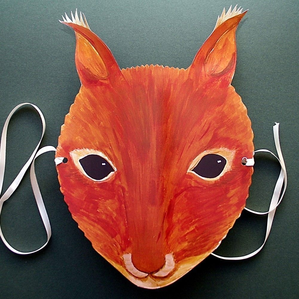 Squirrel Mask | Wind In The Willow Costumes | Pinterest | Squirrel - Free Printable Chipmunk Mask