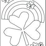 St Patricks Day Coloring Page   Saglik   Free Printable St Patrick Day Coloring Pages
