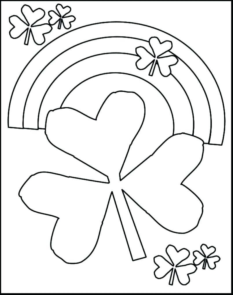 St Patricks Day Coloring Page - Saglik - Free Printable St Patrick Day Coloring Pages