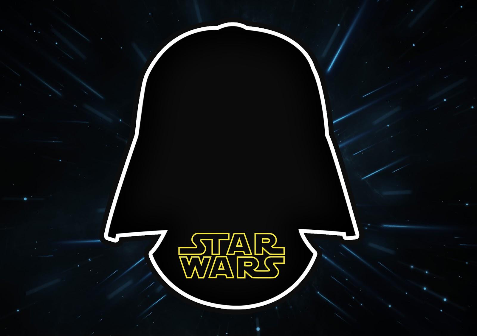Star Wars: Free Printable Invitations. - Oh My Fiesta! For Geeks - Star Wars Printable Cards Free