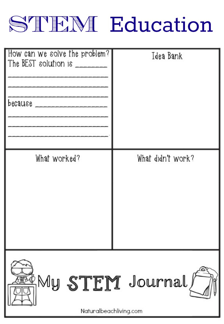 Stem Education For Preschoolers - Stem Activities And Printables - Free Printable Stem Activities