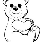 Study Free Printable Teddy Bear Coloring Pages For Kids | Kids   Teddy Bear Coloring Pages Free Printable