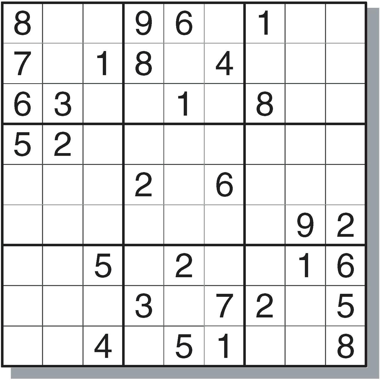 Sudoku Online - Ecosia - Free Printable Super Challenger Sudoku