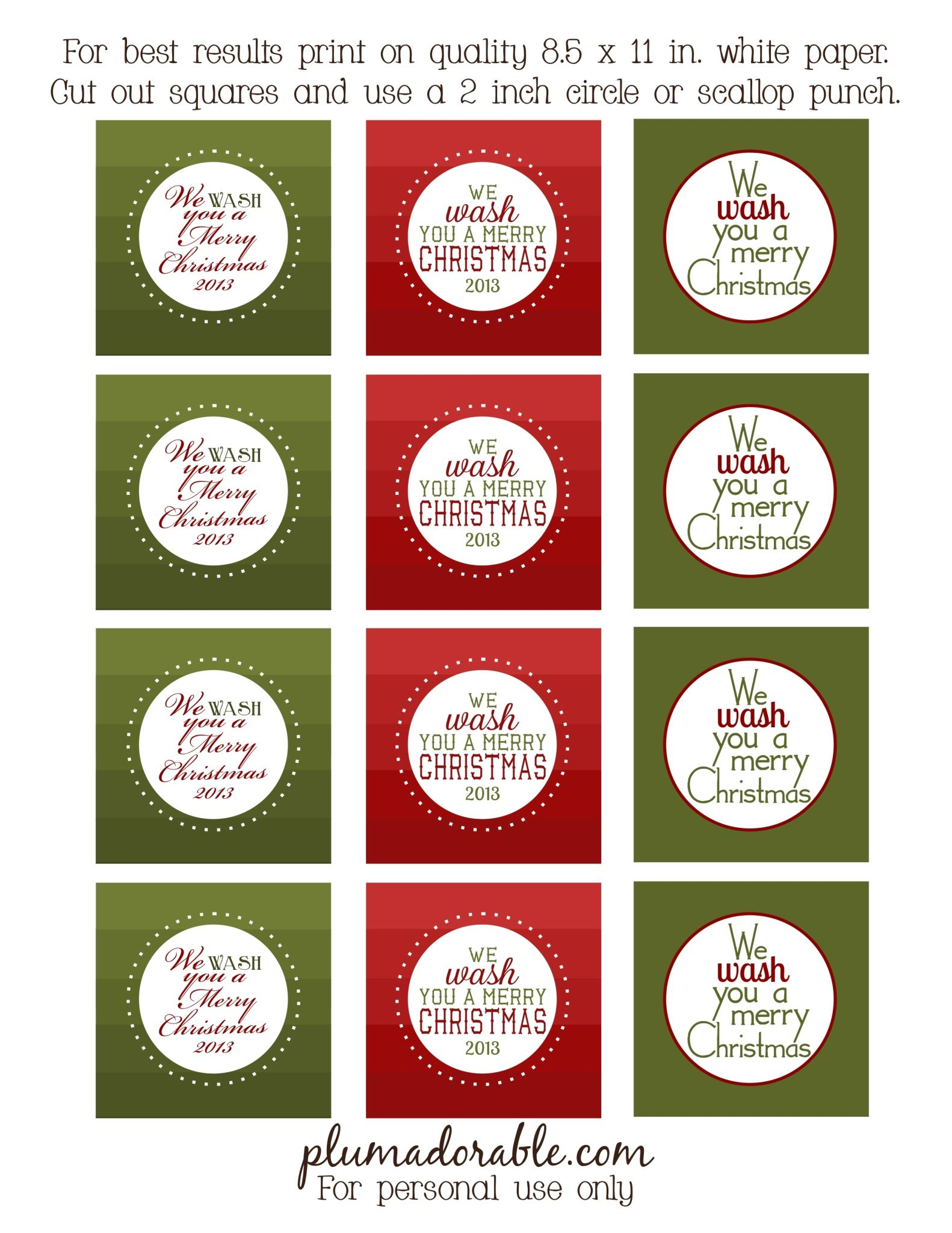Sugar & Spiced Nuts | Recipe | Other | Pinterest | Christmas - We Wash You A Merry Christmas Free Printable