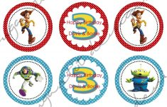 Sugartotdesigns: Toy Story 3 Party Invitations & Cupcake Toppers – Free Printable Toy Story 3 Birthday Invitations