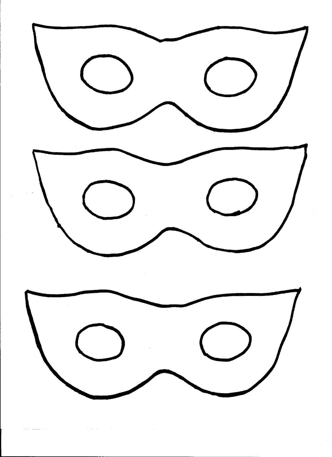 Super Hero Mask Template | Clipart Panda - Free Clipart Images - Free Printable Superhero Masks