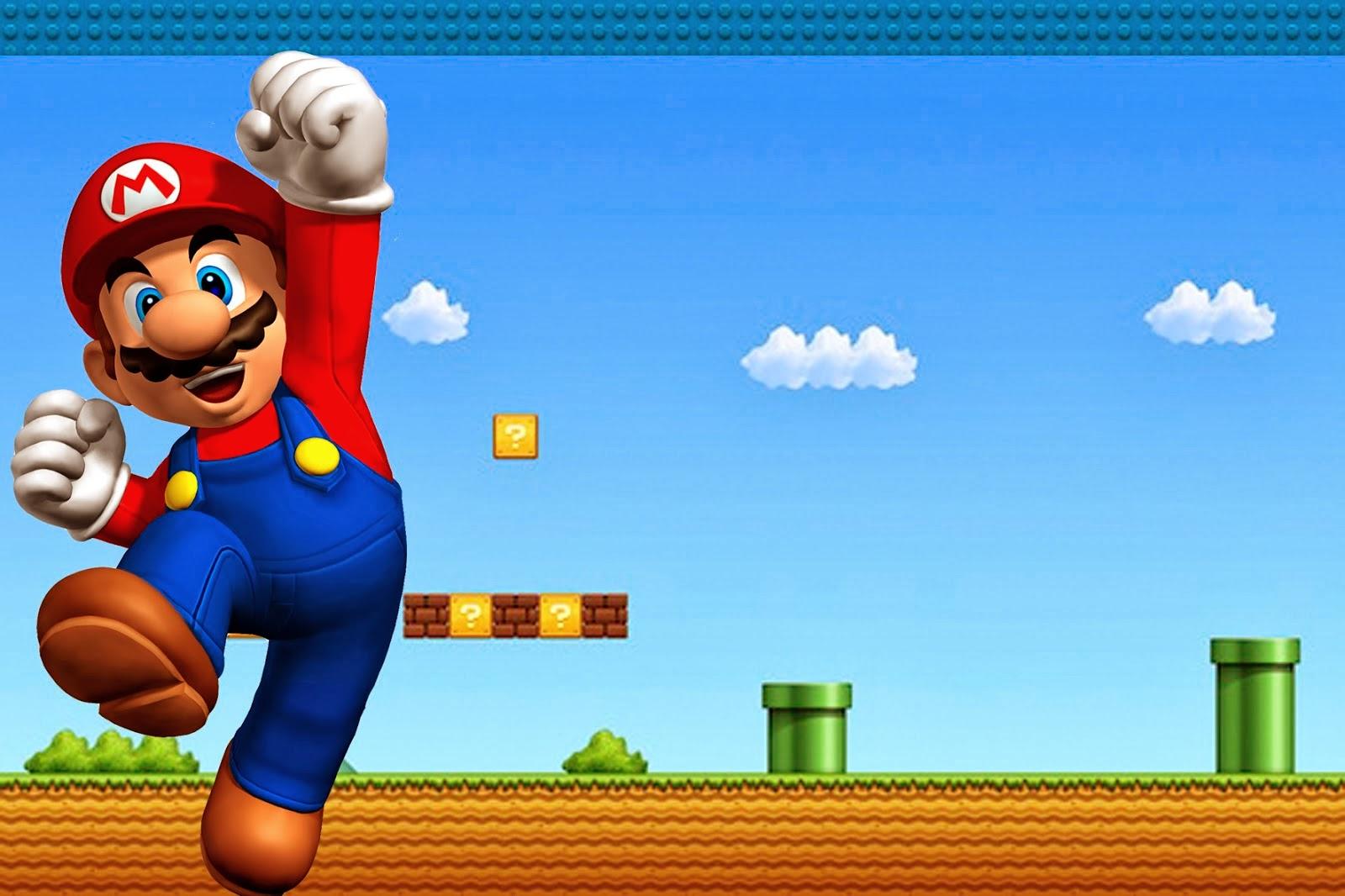 Super Mario Bros Free Party Printables And Invitations. | Oh My - Free Printable Super Mario Bros Invitations