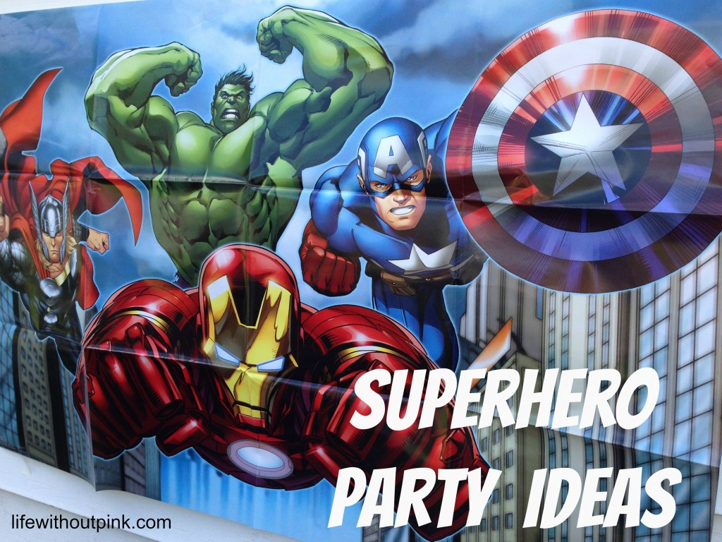 Superhero Birthday Party Ideas {With Free Printables!} | Life - Free Printable Avengers Birthday Party Invitations