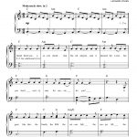Suzanne Lyricsleonard Cohen | Leonard Cohen | Piano Sheet Music - Free Printable Piano Sheet Music For Hallelujah By Leonard Cohen