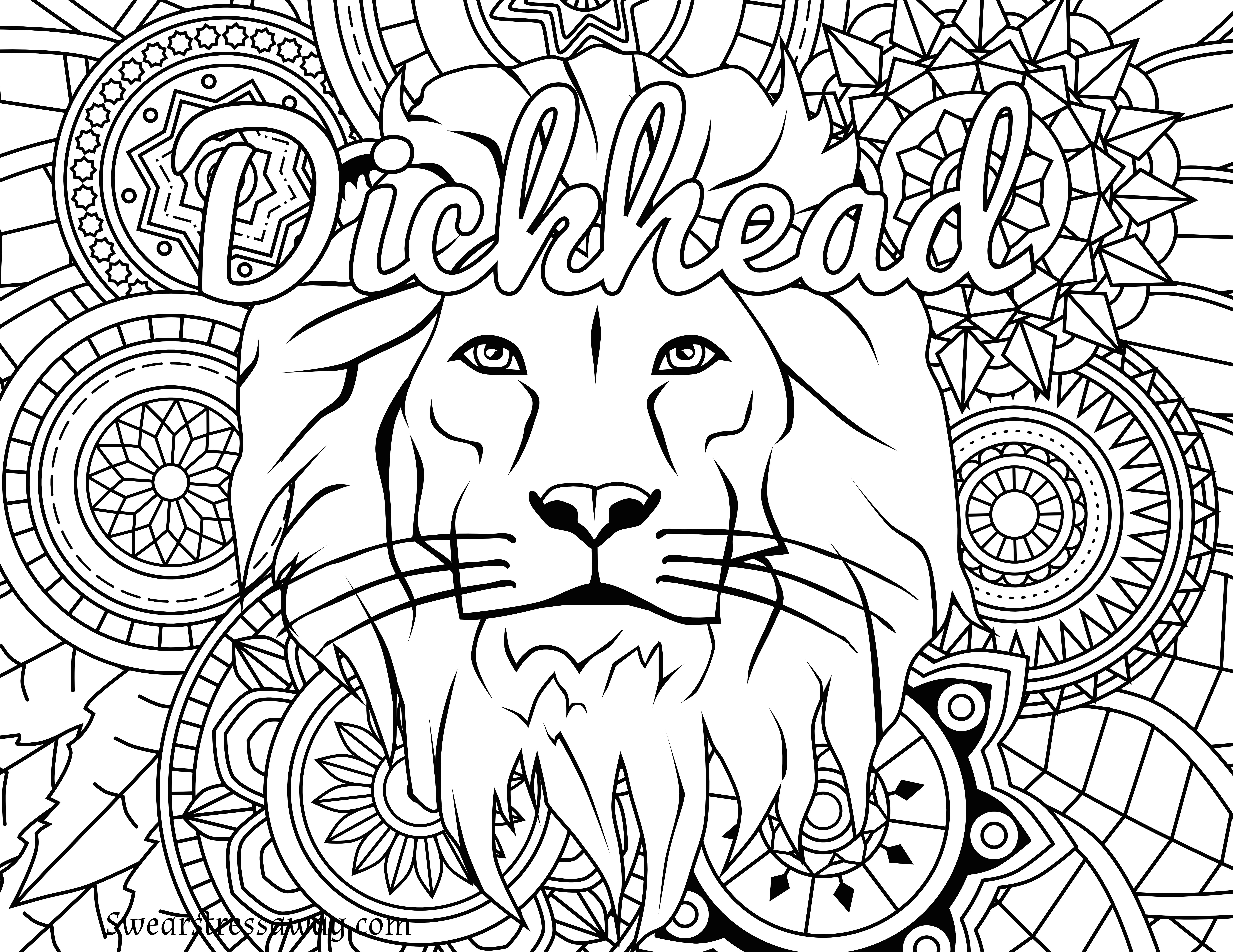 Swear Words Coloring Pages - Lezincnyc - Swear Word Coloring Pages Printable Free
