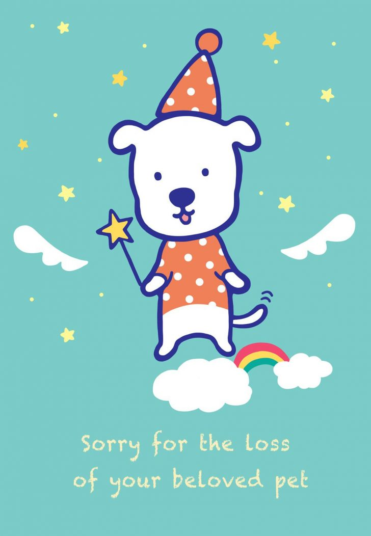 Free Printable Sympathy Card For Loss Of Pet