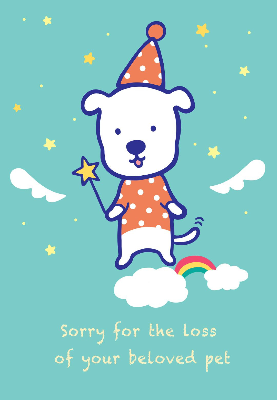 Sympathy #card For The Loss Of A #pet - Free Printable | Sympathy - Free Printable Sympathy Cards For Loss Of Dog