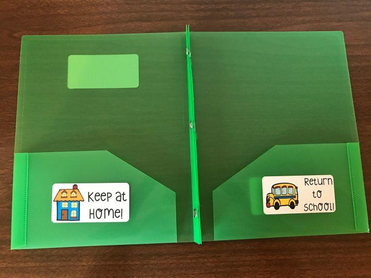 Free Printable Take Home Folder Labels