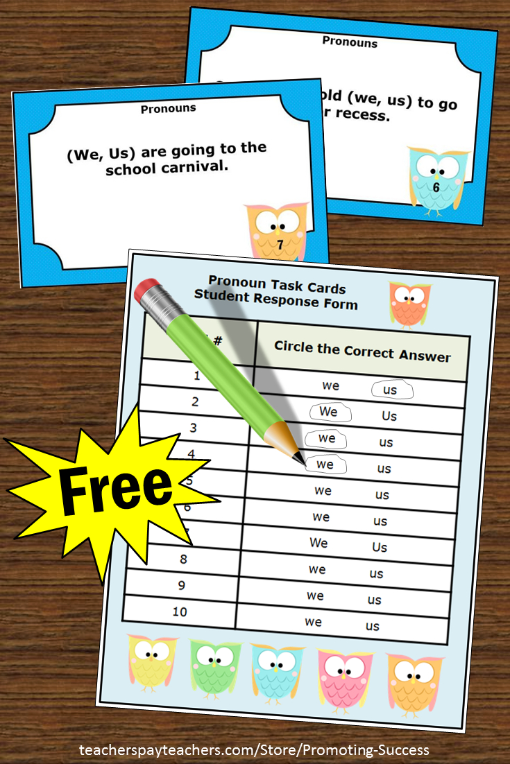 Teachers May Download These Free Printable Kindergarten Or First - Free Printable Kindergarten Task Cards