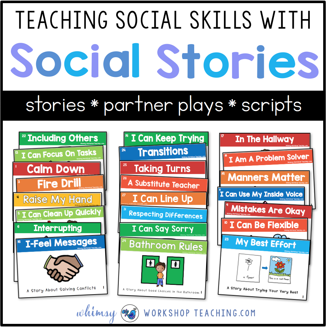 Teaching Social Skills With Social Stories - Whimsy Workshop Teaching - Free Printable Social Skills Stories For Children