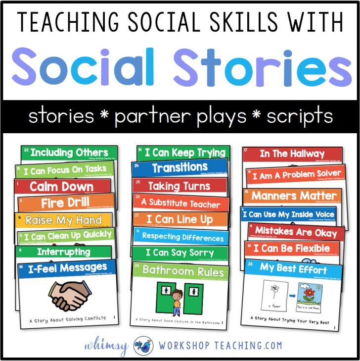 Free Printable Social Stories