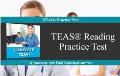 Free Printable Teas Study Guide