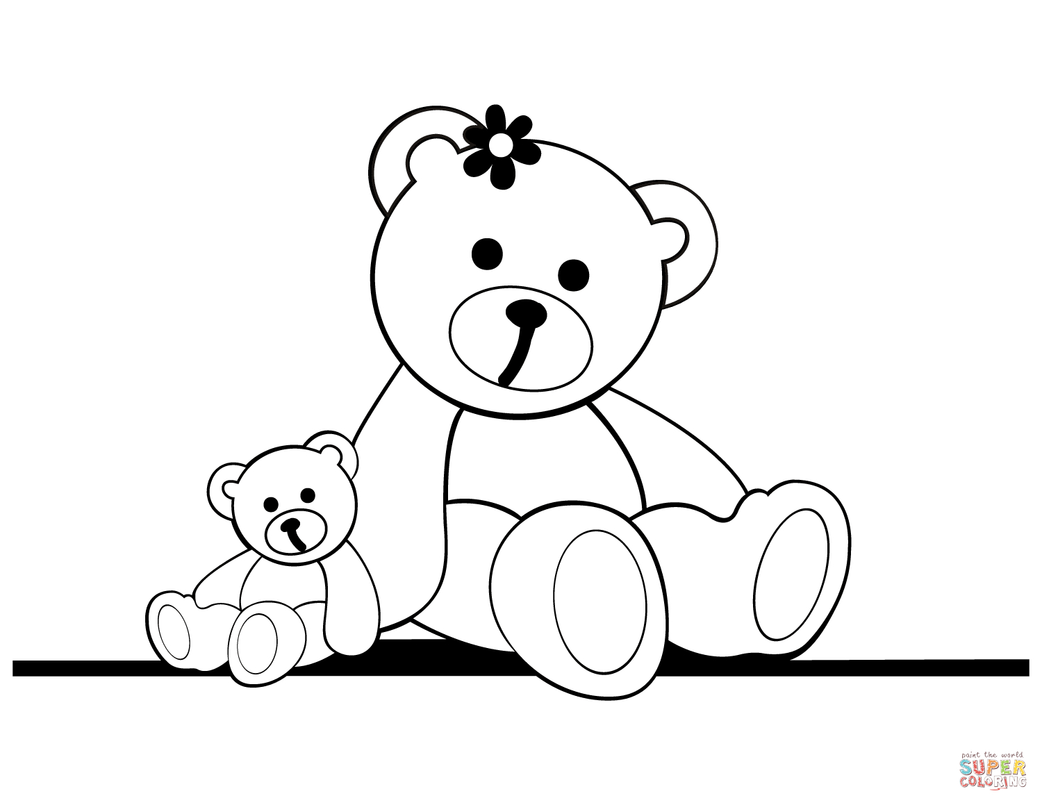 Teddy Bear Coloring Pages | Free Coloring Pages - Teddy Bear Coloring Pages Free Printable