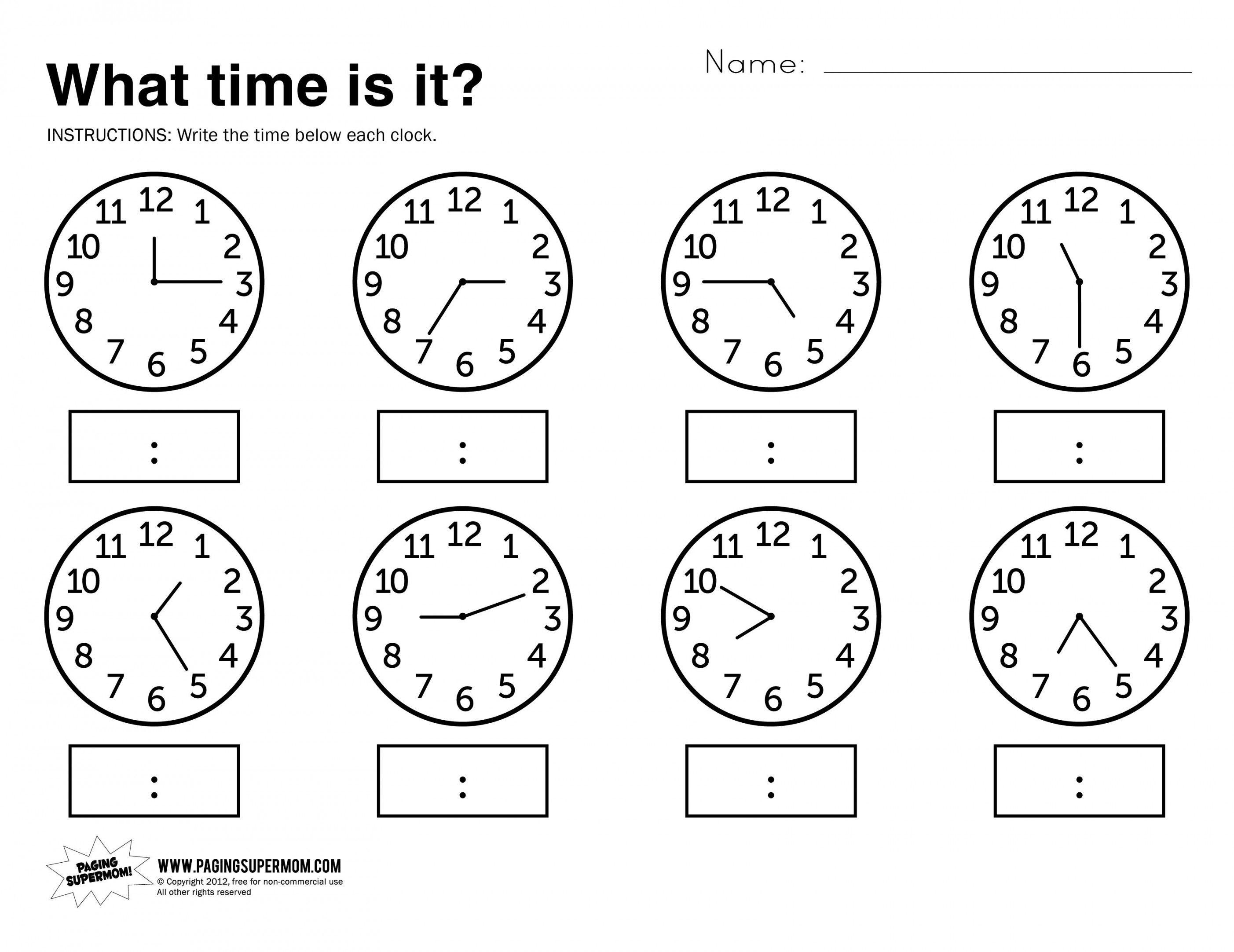 Telling Time Worksheets Grade 3 | Lostranquillos - Free Printable Time Worksheets For Grade 3