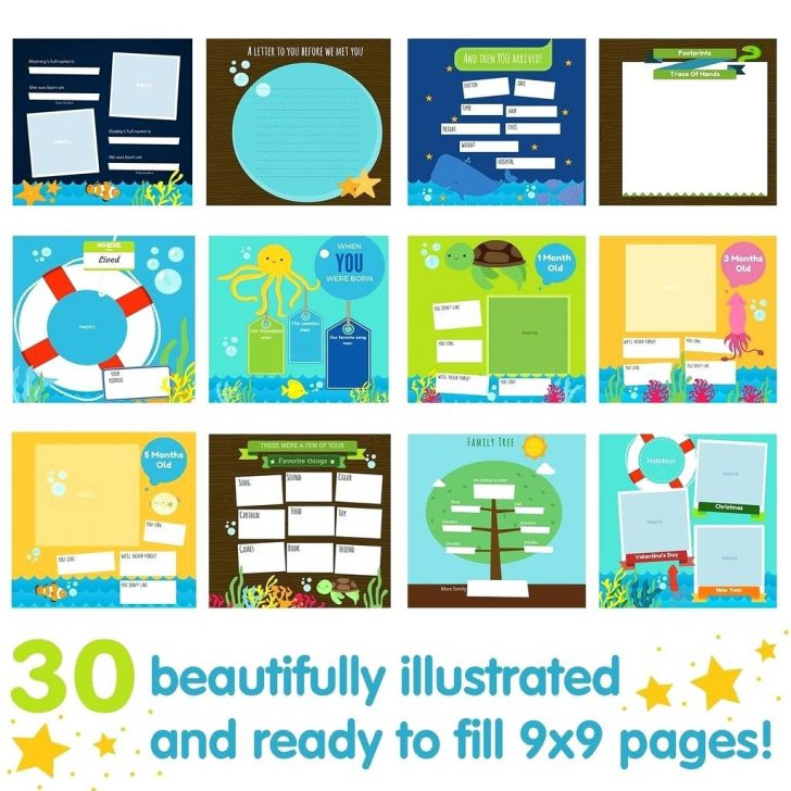Free Printable Baby Journal Pages