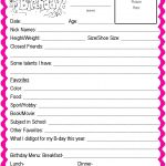 Template For Baby Book | Printable Schedule Template   Free Printable Baby Memory Book