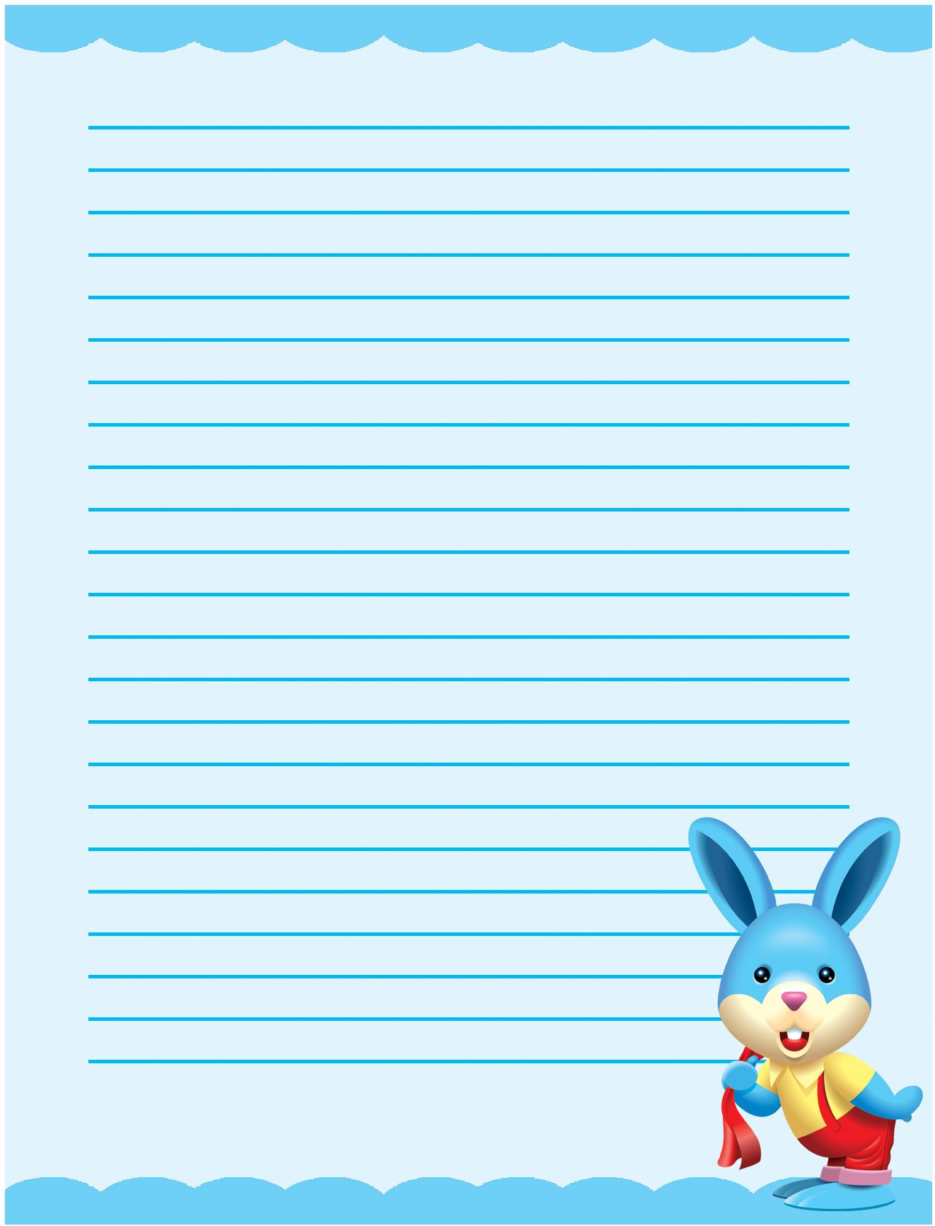 Template: Paper Border Designs Template Writing With Borders - Free Printable Writing Paper With Borders