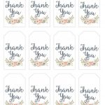 Thank You For Coming Free Printable Tags | Free Printable   Free Printable Thank You Tags Template
