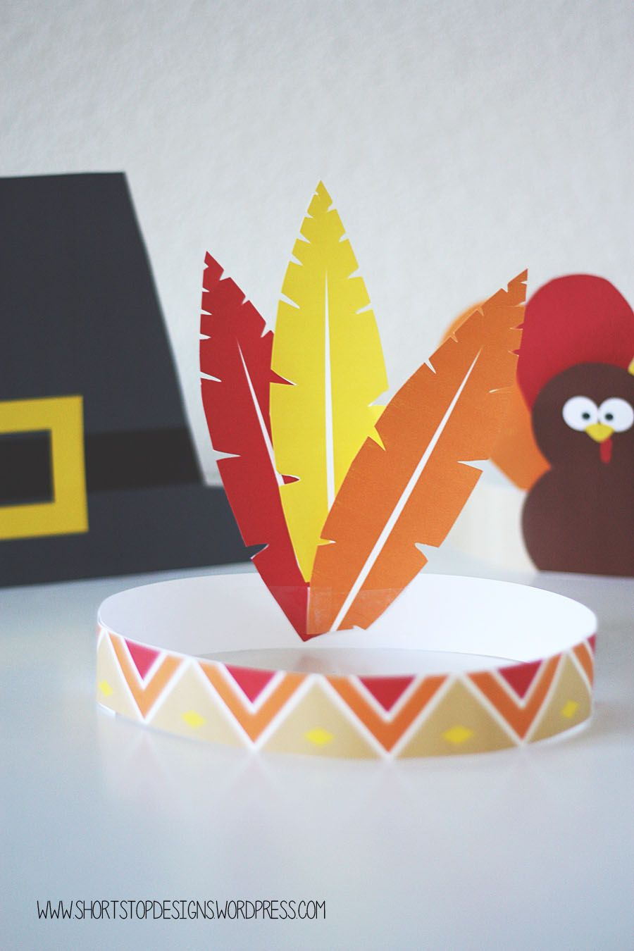 Thanksgiving Kids Hats – Free Printables | Printable | Kids Hats - Free Printable Thanksgiving Hats