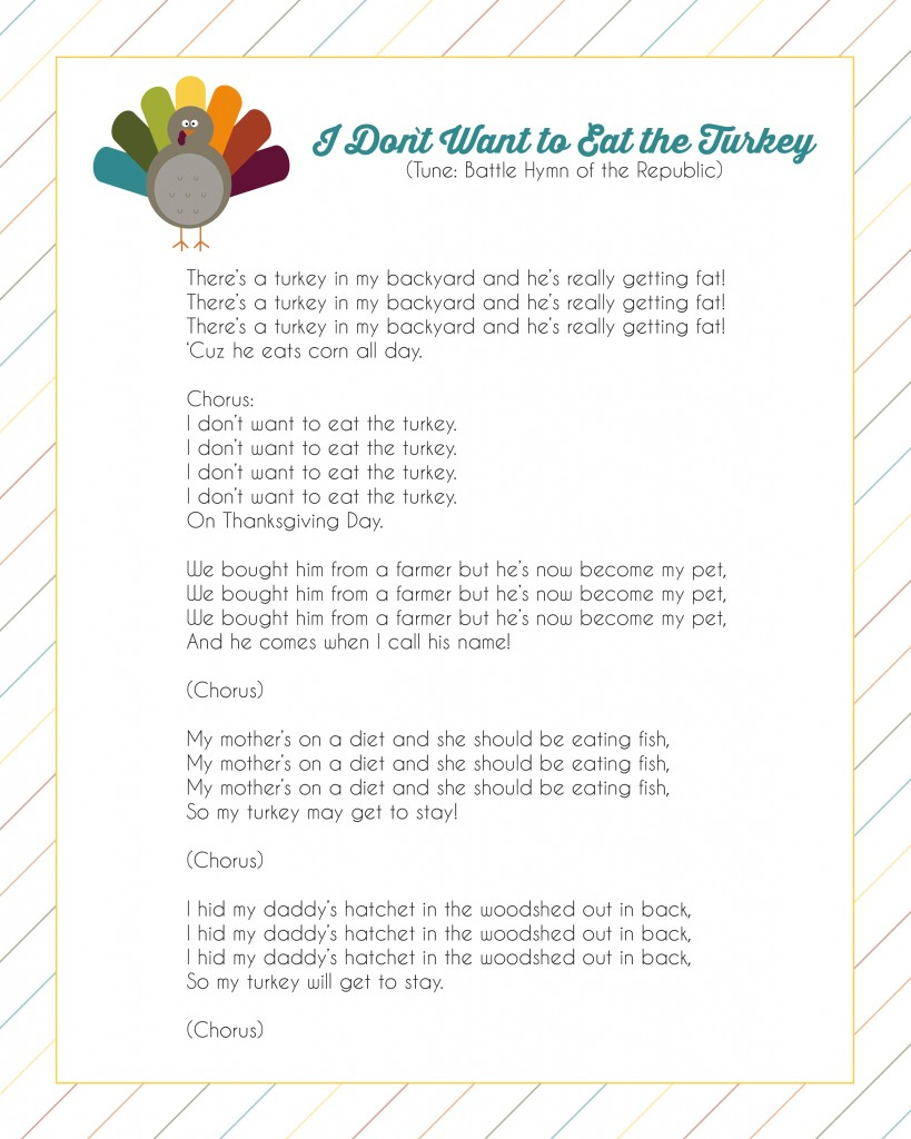 Thanksgiving Photo Booth Props - Free Printables - Free Printable Thanksgiving Photo Props